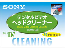 Japan NEW SONY DVM-4CLD MINI DV DIGITAL CAMCORDER HEAD CLEANING TAPE/ CASSETTE