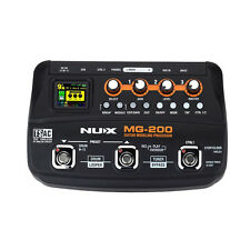 NUX MG-200 Guitar Modeling Processor Guitar Multi-effects Processor 9V