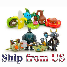 Plants Vs. Zombies Game 10 Pcs Different Role Figure Toy Dolls Gift Cake Topper