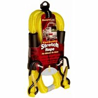 Crawford-Lehigh CZB4 4-Feet Cordzilla Stretch Rope, Yellow