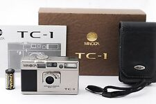Minolta TC-1 35mm Point & Shoot Film Camera with Box from Japan Exc+++/188941