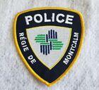 Canada Régie de Montcalm Quebec Police Shoulder Patch