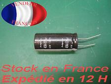 120 uF 450 V condensateur capacitor   105°C marque/brand Rubycon