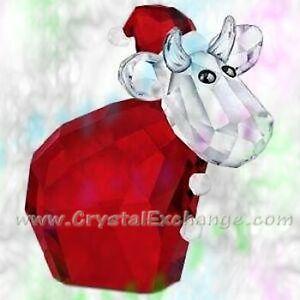 Swarovski Lovlots Santa Mo 1096024 Limited Edition 2011, MIB (Red Christmas Cow)