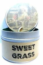 Sweet Grass (Native American Aroma) 4oz All Natural Soy Candle Tin (Take It Any