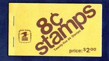 U.S. COMB BOOKLET OF 25 SCOTT#BK123 1972 8ct DWIGHT D EISENHOWER MINT AT FACE