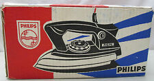 Vintage Philips 220 Volt 1000 Watt Clothes Iron HA 2751 For International Use