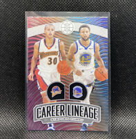 Stephen Curry Career Lineage Warriors SSP 2019-20 Panini Illusions #13
