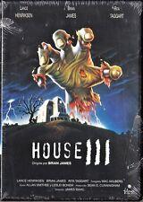 HOUSE III de James Isaac y David Blyth. España tarifa plana envíos DVD, 5 €