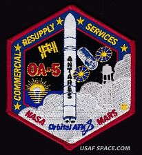OA-5 Cygnus Mission ORB-5 ORBITAL ATK-ISS COMMERCIAL RESUPPLY NASA RD-181 PATCH