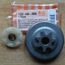 "Genuine Stihl Sprocket & Worm MS200T MS200 020T 1129 640 2050 3/8"" 7T Tracked"