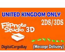 Flipnote Studio 3D for Nintendo 3DS/2DS - *UK Region Only*   Message Delivery