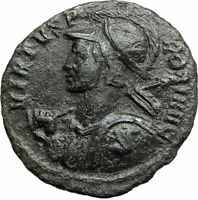 PROBUS on horse 277AD Rare VIRTVS PROBI Authentic Ancient Roman Coin  i76176