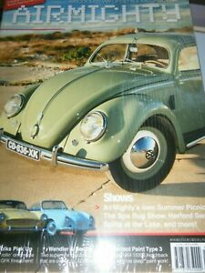AIRMIGHTY #14 SUMMER 2014 VW BEETLE TRANSPORTER WENDLER BEUTLER FUCHS LE BUG 356