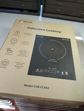 Portable Induction Cooktop, iSiLer 1800W Sensor Touch Chk-Cca02