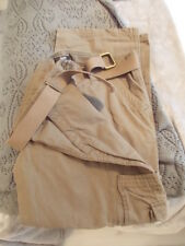 BROWN CARGO PANTS 38W 29LEG NEW GEORGE
