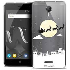 """Coque Gel Pour Wiko Jerry 2 (5"""") Extra Fine Souple Noël 2017 Flying Stanta"""