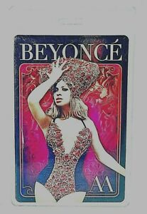 BEYONCE ALL ACCESS PASS MAY 2012
