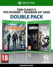 Tom Clancy's The Division + Rainbow Six Siege Double Pack Xbox One *SEALED PAL*