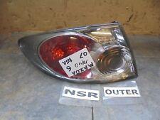 MAZDA 6 2007 HATCH NEARSIDE PASSENGER SIDE REAR OUTER WING LAMP / LIGHT