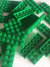 Lego Green 2x6 Baseplate Flat Tile Building Plate Cars Base Parts 2 X 6 new 24pc