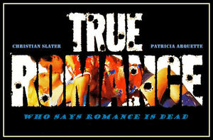 True Romance FRIDGE MAGNET 6x8 Magnetic Movie Poster Canvas Prints