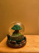 Disney Animal Kingdom Circle of Life Rotating Musical Snow Globe Tree of Life