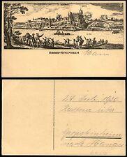 Hanau GROSS-STEINHEIM im Jahre 1631 - sw AK ungebraucht, wohl um 1930