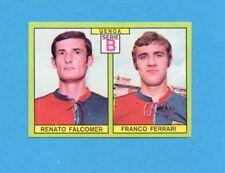 PANINI CALCIATORI 1968/69-Figurina - FALCOMER+FERRARI -GENOA-Recuperata