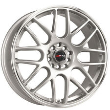 Drag Wheels Dr-34 18x8 5x115  Silver Rims For Pontiac Grand Am Prix GXP 300C