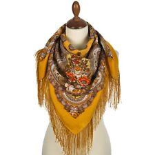 Pawlow Posad russischer Schal-Tuch Folklore Tradition 125x125 Wolle 511-1