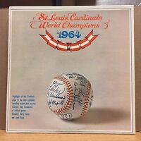 St. Louis Cardinals World Champions 1964 EX LP Harry Caray Jack Buck BASEBALL!!
