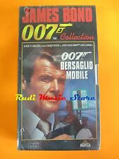 film VHS JAMES BOND 007 BERSAGLIO MOBILE   CARTONATA  (F30)  no dvd