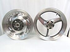 97 98 99 00 01 02 03 Suzuki VZ800 VZ 800 Marauder Front & Rear Wheel Rims   W/S