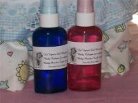 LaVigne's Baby Powder Scented Cologne For Reborns Pink Bottle