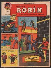 LA REVISTA DE ROBIN # 60 1951 - RARE Argentine Printed COMIC (Robin and Batman)