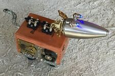 Bartholomew's Brilliant Boxes Mech Robot Dog Light Up Cigar Box w/ Moving Tail
