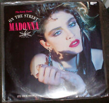"MADONNA ON THE STREET EP 12"" VINYL 1989 LIMITED UK EARLY YEARS VON VERNHERR"