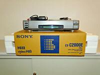 Sony EV-C2000 High-End Hi8-Videorecorder, OVP w.NEU, 2 Jahre Garantie