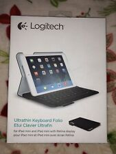 NIB~ Logitech~Ultrathin Keyboard Folio for iPad Mini/iPad Mini w/Retina Display