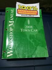 Genuine Oem Factory 2008 Ford Town Car Workshop Shop Manual Guide Service