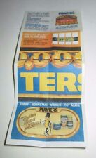 PLANTERS PEANUTS MUNCH FOR A MILLION 1983 GAME TICKET UNUSED PIECE ADVERTISING