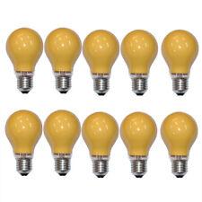 10 x LAMPADINA 25W E27 ARANCIONE Lampadina da 25 watt Lampadine PARTY