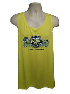 2019 NYRR New York Road Runner Queens 10K Run Mens Green 2XL Sleeveless Jersey
