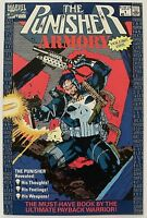 """""""THE PUNISHER ARMORY"""" Volume # 1(July, 1990, Marvel Comics) f. JIM LEE cover art"""