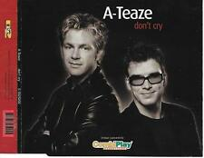A-TEAZE - Don't cry CD SINGLE 2TR EUROVISION 2003 NETHERLANDS Europop