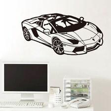 Wall Decal Kids Room Fashion Sport Racing Car Vinyl Sticker Home Bedroom Decor