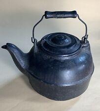 C1900 Cast Iron Stove Top Tea Kettle
