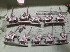 VINTAGE JOBLOT METAL PAINTED Small 15mm ANCIENT MEDIEVAL ARMOURED Muslim Cavalry