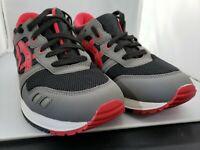 ASICS Tiger GEL LYTE III GS Kids Retro Sneaker Black/Red Size 5 1/2